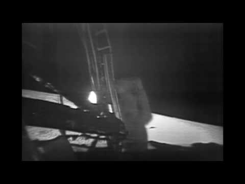 NASA Releases Restored Moon Landing Footage
