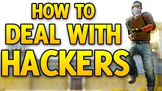 How To Deal With Hackers In CS GO - CS GO Competitive Cheaters