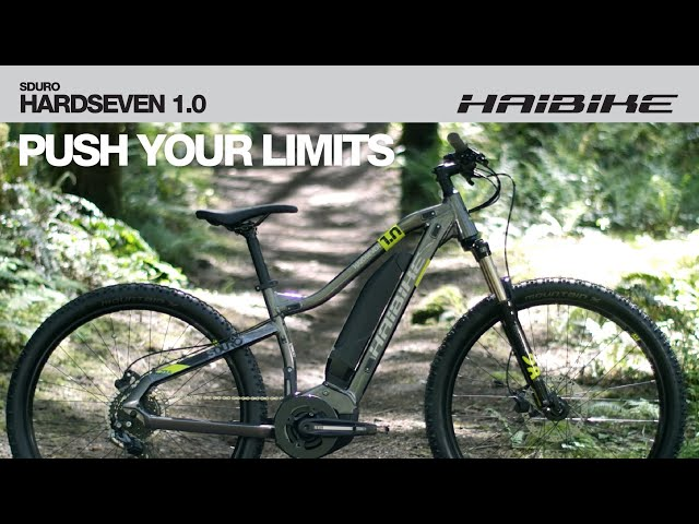 Видео Электровелосипед Haibike SDURO HardSeven 1.0 400Wh titan/lime/black