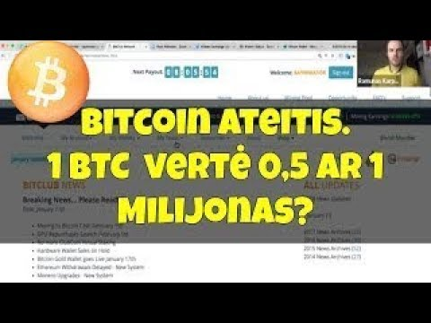 Kaip siųsti bitcoin į piniginę