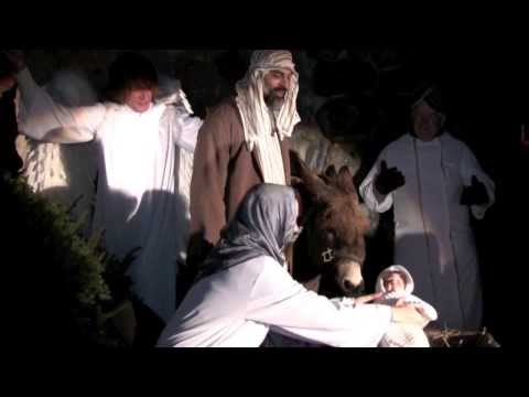 Living Nativity 2012 (St. Francis Sculpture Garden)