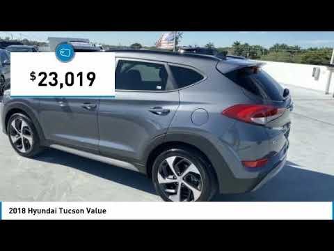 Pre-Owned 2018 Hyundai Tucson Value