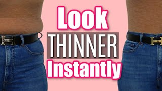 10 *Hacks* to Look 10 Pounds Slimmer | How to Look Thinner in Your Clothes