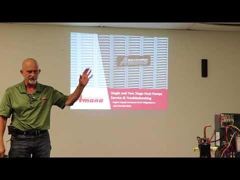 Heat pump Training aug 2017 - YouTube