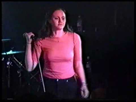 "The Donnas -  ""Hyperactive / Checkin' It Out"" - live @ the Bottleneck, Lawrence, 1999"