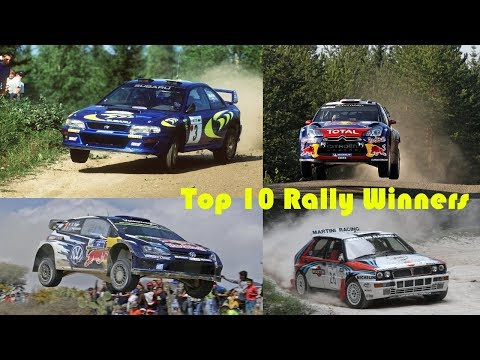Rally Cars TOP 10 WRC Winners (Pure Sound) Full HD