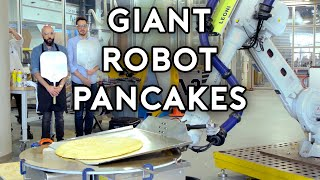 """Check out Dan Souza's far-more-scientific take on giant pancakes over at What's Eating Dan! https://www.youtube.com/watch?v=uHOqSNnDib0  Happy (early) birthday Macaulay!!  5 Million Subscriber Special coming soon!  Preorder the official Binging with Babish Cookbook today! https://www.bingingwithbabish.com/cookbook  Music: """"XXV"""" by Broke for Free https://soundcloud.com/broke-for-free  My new show, Being with Babish! https://bit.ly/2R5IgTX  The new Spanish-language BwB channel here! https://bit.ly/2UYG6qs  My playlist of preferred cooking tunes, Bangers with Babish!  https://spoti.fi/2TYXmiY  Binging With Babish Website: http://bit.ly/BingingBabishWebsite Basics With Babish Website: http://bit.ly/BasicsWithBabishWebsite Patreon: http://bit.ly/BingingPatreon Instagram: http://bit.ly/BabishInstagram Facebook: http://bit.ly/BabishFacebook Twitter: http://bit.ly/BabishTwitter"""