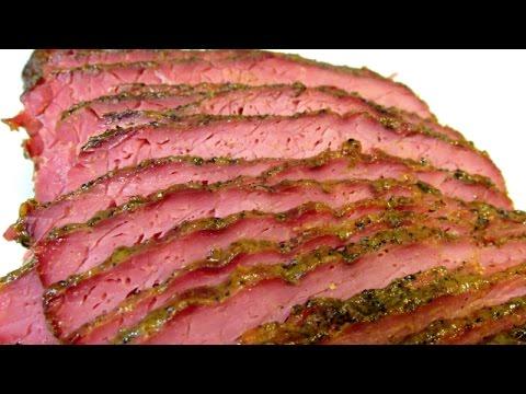 Corned Beef Brisket Recipe - Honey Mustard Glazed Corned Beef - The BEST