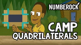 Quadrilaterals Song For Kids | Geometry Video | 3rd & 4th Grade