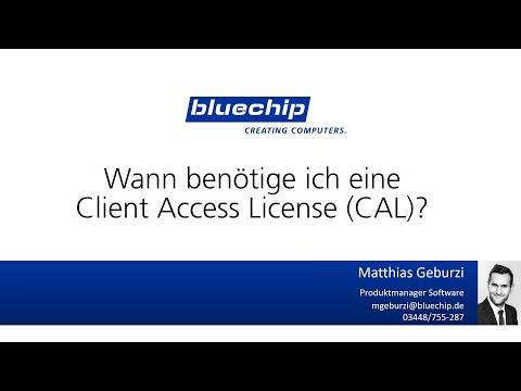 Online Seminar: Wann benötige ich eine Client Access License (CAL)?