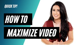 How to get video at a lower cost and with high return.
