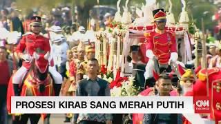 Download Video Full - Prosesi Kirab Sang Merah Putih Dari Monas - Istana Negara; Bersatu Indonesia MP3 3GP MP4