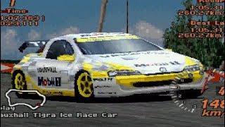 Gran Turismo 2 - Vauxhall Tigra Ice Race Car REVIEW