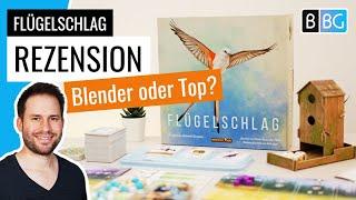 Flügelschlag / Wingspan - Rezension  (Kennerspiel des Jahres 2019)