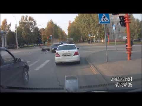 Подборка Мото аварии / видео