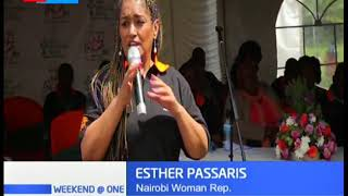 16 days of Activism against Gender Based Violence: Esther Passaris marks day with GBV survivors