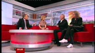 Brian May & Roger Taylor BBC Breakfast 26 May 2011