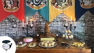 Turning My House Into Hogwarts | Harry Potter Party