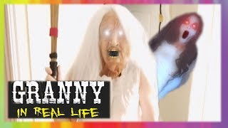 GRANNY Horror Game IN REAL LIFE! GRANNY vs Slendrina