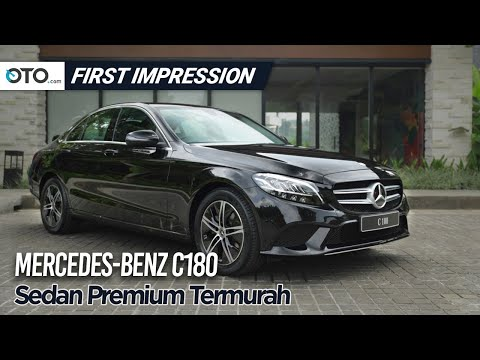 Mercedes Benz C180 | First Impression | Sedan Premium Termurah | OTO.com