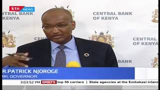 CBK Governor not worried on stability of shilling as the currency weakened since June 1st