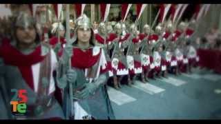 preview picture of video 'Tele Elda - Moros y Cristianos 2013'