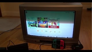Connecting the Nintendo Switch via SCART to an old CRT Television