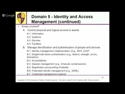 New CISSP Exam Prep (8 Domain) - Live - YouTube