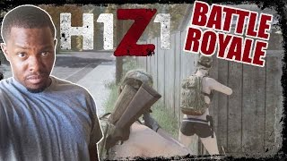 Battle Royale H1Z1 Gameplay - AK47 UPDATE! | H1Z1 BR Gameplay
