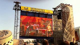 """Jimmy Buffett """"Margaritaville"""" live at Jazz Fest 2011"""