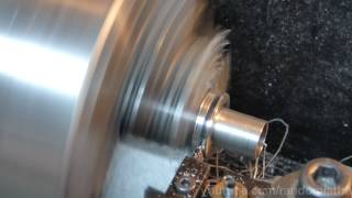 Parting steel on a mini lathe