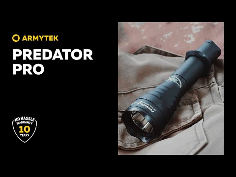 Predator Pro — best-selling tactical flashlight from Armytek