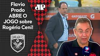 """Flavio Prado abre o jogo: """"Você vê a cara do Rogério Ceni no Flamengo e fica claro"""""""