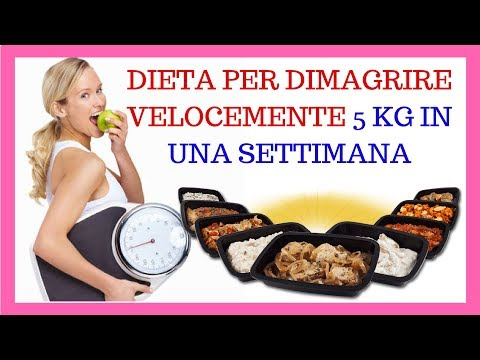 Come mangiare in modo conveniente come buttare 10 kg