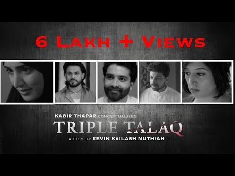 Triple Talaq - A short film awarded as the best digital content | By Kevin Kailash Muthiah