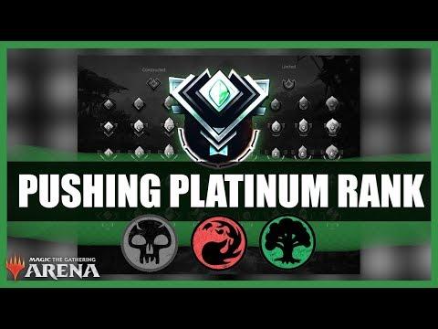 Pushing Platinum Rank on Magic the Gathering Arena
