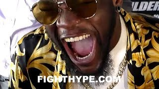DEONTAY WILDER RESPONDS TO ANTHONY JOSHUAS FACETIME WITH 50 CENT IN DISBELIEF