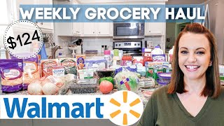 WEEKLY GROCERY HAUL | WALMART GROCERY DELIVERY