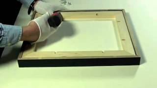 Using Strainers  in Wood Frames