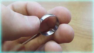 Как сделать кольцо из гайки своими руками.