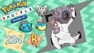 Whirlipede  - (Pokémon) - Pokémon Shuffle Mobile - Vigoroth, Whirlipede, Croconaw, etc [436 - 440]