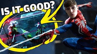 Spider-Man PS4 - E3 2018 Demo, Free Roam Gameplay, Thoughts & More!