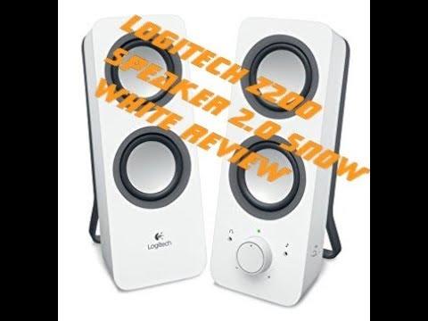 Logitech z 200 deutsch  PC Lautsprecher Unboxing & Sound test Review Deutsch