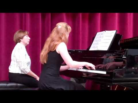 Heather Performs Serenade, Op. 90, No. 11 by Franz Schubert