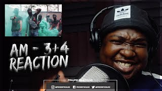 #410 AM   3+4 [Music Video] | GRM Daily (REACTION)