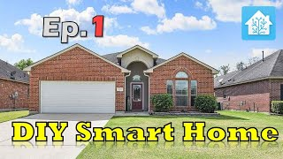 How to Start a New Smart Home | Initial Walkthrough | DIY Smart Home - Ep#1