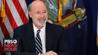WATCH: Pennsylvania governor Tom Wolf gives coronavirus update -- March 18, 2020