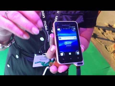 First look: Sony Ericsson Xperia active