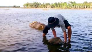 Khi thánh nhọ đi câu lươn (when the unlucky guy go fishing eels)