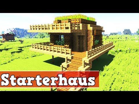 Wie Baut Man Ein Starter Haus In Minecraft Minecraft Starterhaus - Minecraft hauser einrichten deutsch